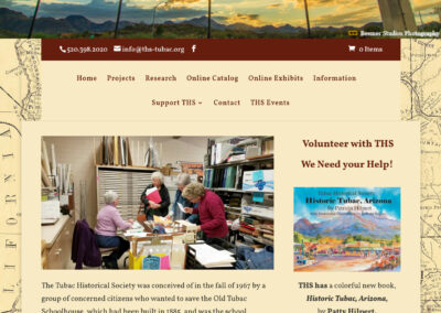 Tubac Historical Society website