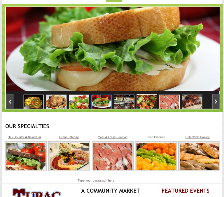 Tubac Market Website